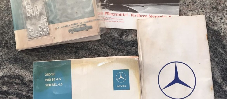 Mercedes 280 SEL 4.5