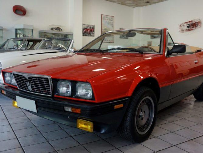 Maserati biturbo Zagato spyder