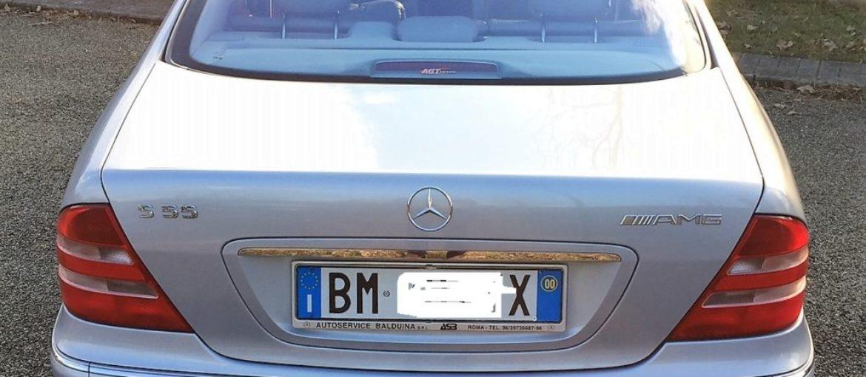 Mercedes S 55 AMG