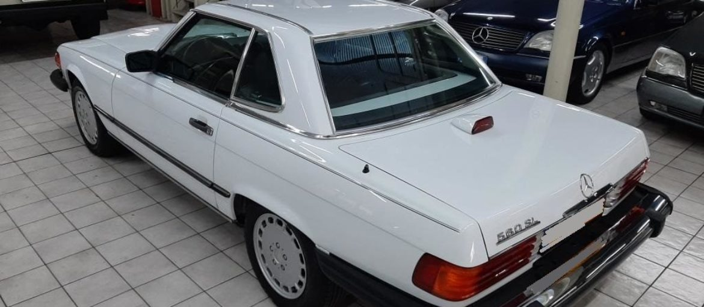 Mercedes SL 560 – R107